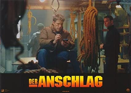 La suma de todos los miedos E alemán Póster de película - 28 ...