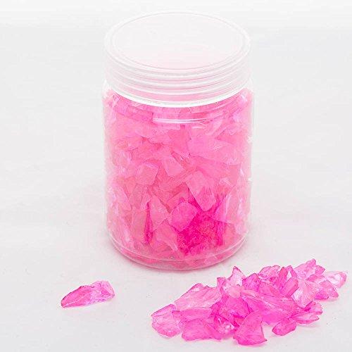 - Richland Vase Filler Glass Pebble Pink