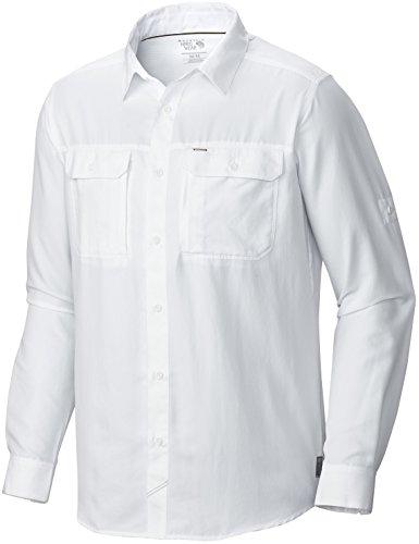- Mountain Hardwear Men's Canyon¿ L/S Shirt White X-Large