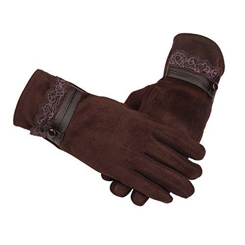 Sunward ( TM )冬暖かいタッチ画面Riding Gloves