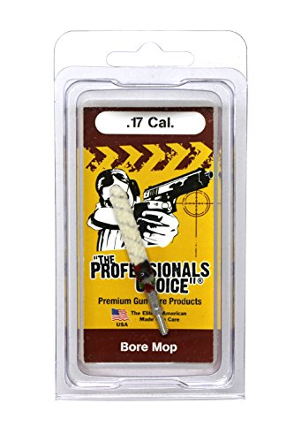 The Professional's Choice Gun Cleaning Bore Mop.17 - Rifle Mop Cleaning Bore