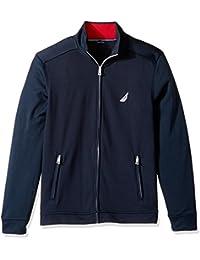 Nautica Men's Long Sleeve Active Zip Front Jacket