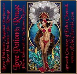 Любовь Potion® Rouge ~ 1/3 эт. Унция Феромоны Enhanced Духи Масло для женщин