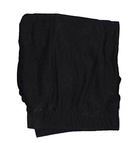 8181d6be220f7 No Boundaries Black Soot Solid Super Soft Sueded Capri Legging