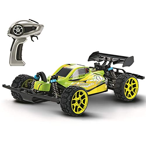 Carrera 1: 18 Scale Electric 4WD Full Metal Gears Profi RC Lime Star Off Road Racing Vehicle 2.4Ghz Radio Remote Control 31 Mph High Speed, Green ()