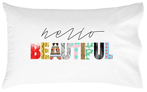 OH, SUSANNAH Hello Beautiful Pillow Case For Couples Wedding Anniversary Gift Pillowcase For Her (Funny Things To Dress Up As)