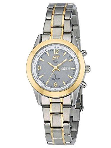 ETT Eco Tech Time Solar Drive Funk Damen-Armbanduhr Gobi ELS-11266-11M