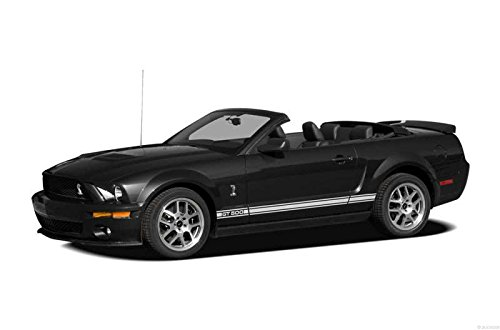 Shelby 2007 Gt500 Ford (Home Comforts LAMINATED POSTER 2007 Ford Shelby GT500 Car Poster Print 24x16 Adhesive Decal)