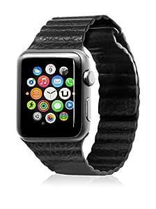 Unotec Correa Segment Apple Watch 42 mm Negro