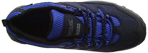 Regatta Unisex-Kinder Holcombe Low Jnr Schuhe mit Niedrigem Anstieg Blau (Nvyblz/oxfbl)
