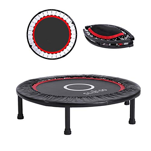 Trampoline Xiaomei Foldable Fitness Indoor Fitness Without A Handle Mini Suitable for Kids Over 8 Years Old and Adults Used in Home, Outdoor