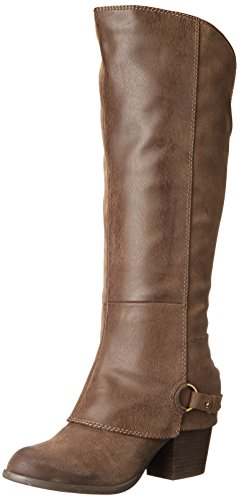 Fergalicious Women's Lexy Western Boot Taupe Wc YHeOy