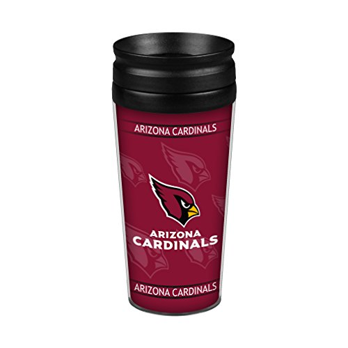 - Boelter Brands NFL Arizona Cardinals Full Wrap Travel Tumbler, 14-Ounce, Red