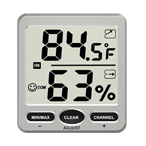 TS-WS-07-C1 8 Channel Wireless Weather Station Indoor Outdoor Thermometer Hygrometer Console -Nature Element Measurements Hygrometer - 1 x TS-WS-07-C1 8-Channel Wireless Weather Station - Thermo Thermometer King