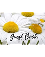 Guest Book: Daisy Sign-in Book for Vacation Rental Home, Country side House, Airbnb, Bed and Breakfast