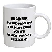 Funny Mug - Engineer. Solving problems - 11 OZ Coffee Mugs - Funny Inspirational...