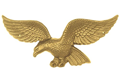 Grandview Aluminum Cast Aluminum American Eagle Wall Decoration/Sculpture/Plaque 1312 (13.5