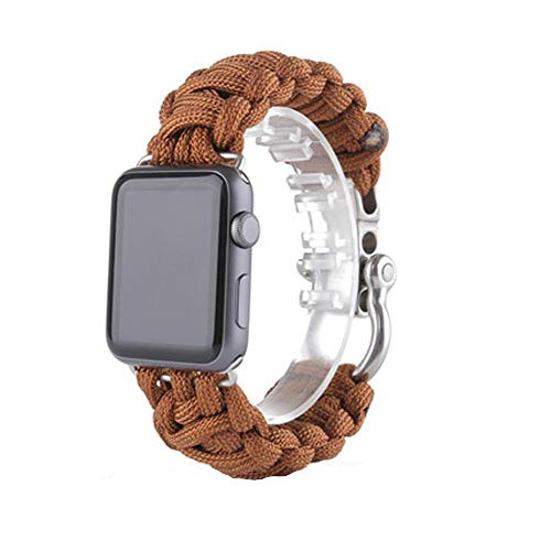 Price comparison product image BIYATE Sport Band Compatible with Apple Watch 38mm 40mm 42mm 44mm,  Soft Lightweight Breathable Nylon Sport Strap Bracelet,  Strap Replacement for iWatch Series 4,  Series 3,  Series 2,  Series 1