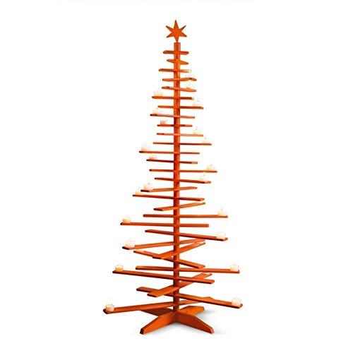 Philippi Lucia Weihnachtsbaum Teelichthalter Orange