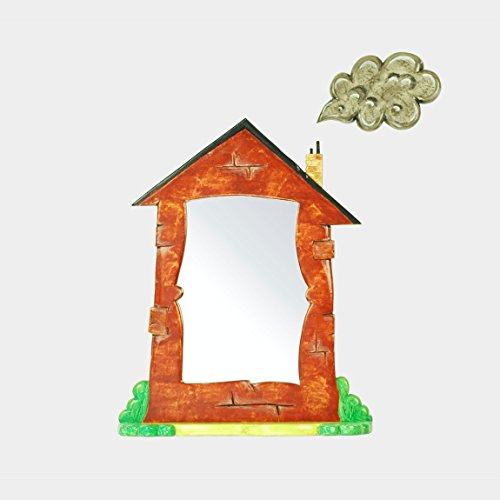 Home Decorative Wall Mirror, living cottage home mirror art, the Homestead Mirror - by Marvellous Mirrors @ Amazon