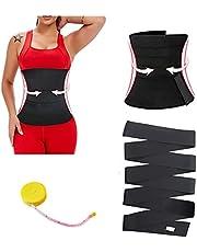 Tiktok Quick Snatch Bandage Wrap For Women, Lumbar Waist Support Trainer,Women Slimming Back Braces Postpartum Recovery Tummy Wrap Belt