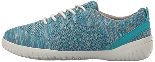Heather Tie Femme Knit Chaussures Rockport Raelyn Teal 7qB0wYZF