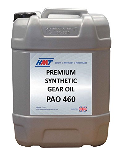 HMTG148 Premium Synthetic Industrial Gear Oil PAO 460 - 25 Litre Plastic by HMT