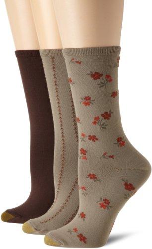 Gold Toe Women's 3 Pack Tossed Floral Socks - Buy Online ...