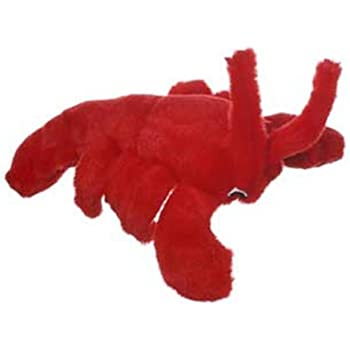 Multipet's Look Who's Talking Plush Lobster Dog Toy, 7.5-Inch