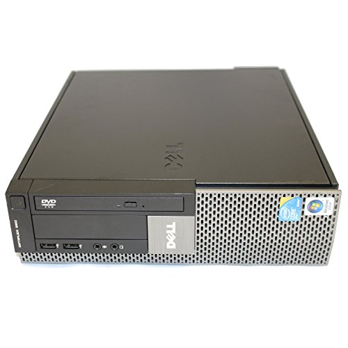 Dell OptiPlex 960 SFF Desktop Intel Core 2 Duo E8400 3.0GHz 8 GB DDR2 RAM 1 TB HD DVD-RW WiFi Bluetooth Microsoft Windows 7 Professional 64-bit
