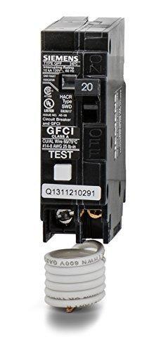 Siemens QF120 20-Amp 1 Pole 120-Volt Ground Fault Circuit Interrupter