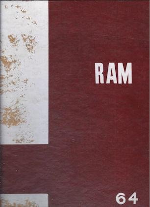 Fresno City College Annual, RAM, 1964