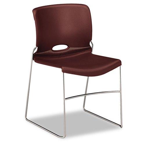 HON 404165 Olson Stacker Chair, Garnet, Four/carton (Hon Olson Stacker)