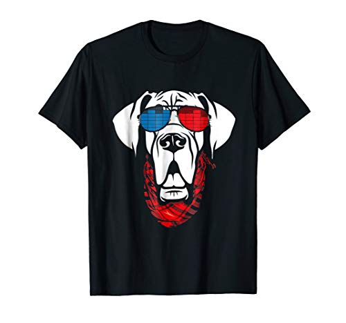 Light Up Halloween T Shirt (Great Dane LED T Shirt Sound Activated Glow Light)