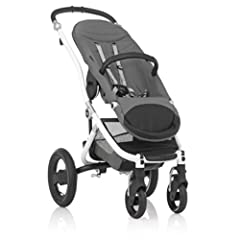 U421834 Color: White Features: -Product Type:Standard strollers -Color:Black -Color:Silver -Color:White -Distressed:No. Dimensions: -Overall Height - Top to Bottom:40 -Overall Width - Side to Side:23.75 -Overall Depth - Front to Back:28 -Over...