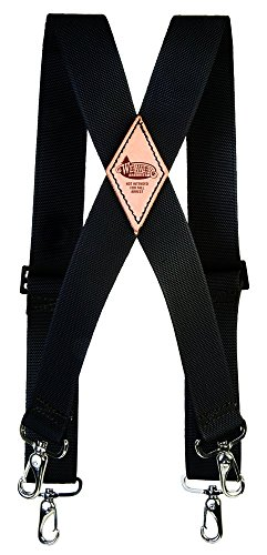Weaver Arborist Nylon Saddle Suspenders, Black