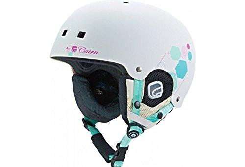 Casque de ski pour enfant CAIRN Blanc DARWIN J Blanc Mat Prisme 55//56