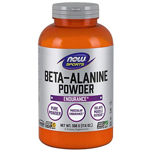 - NOW Sports Nutrition, Beta Alanine Powder, 500 Grams