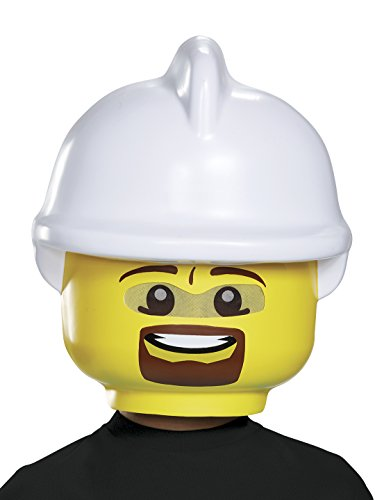 Disguise Lego Firefighter Mask, One Size