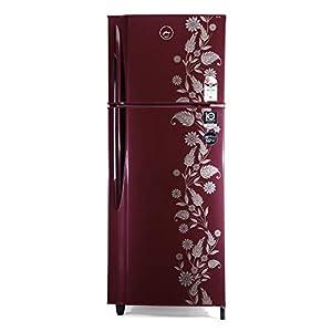 Godrej 255 L 2 Star Inverter Frost-Free Double Door Refrigerator with Jumbo Vegetable Tray (RF EON 255B 25 HI SC DR…