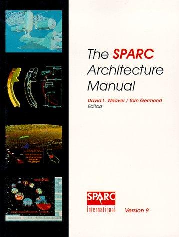 Price comparison product image SPARC Architecture Manual Version9