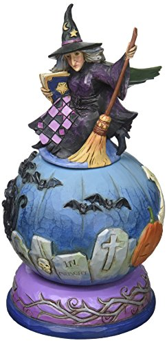 Jim Shore Heartwood Creek Graveyard Witch Figurine -