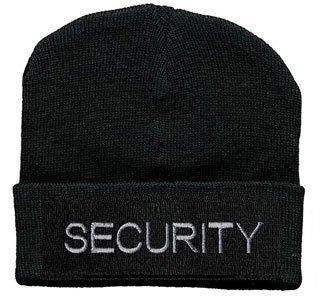 Hip-Hop Mütze mit Einstickung - Security - 51048