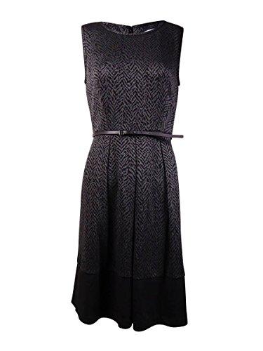 calvin klein a line pleated dress - 9