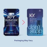 Duration Spray for Men, K-Y Male Genital