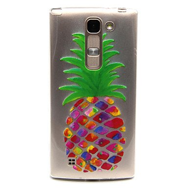 Pineapple Pattern TPU Relief Back Cover Case for LG Spirit H440N/H422 ( Compatible Models : G3 )