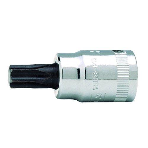 TR-20 Bahco 6709TORX-R-T20 1//4-Inch Socket Driver for Torx-TR Head Screws Silver//Black