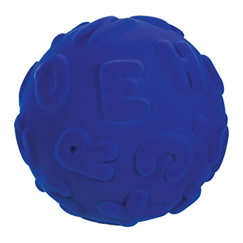 Educational Ball - Tactile Uppercase Letters- Blue (Tactile Letters Uppercase)
