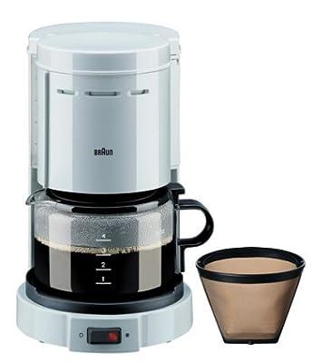 Braun KF12WH Aromaster 4-Cup Coffee Maker