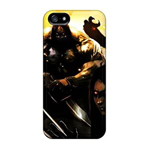 Iphone 5/5s Case Cover - Slim Fit Tpu Protector Shock Absorbent Case (x Force)